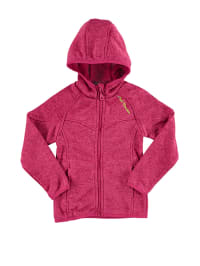 Peak Mountain Strickfleecejacke in Fuchsia