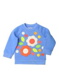 """Olive & Moss Sweatshirt """"Floral"""" in Hellblau/ Bunt"""