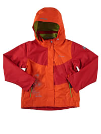 """Icepeak Regenjacke """"Renee Jr"""" in Orange/ Rot"""