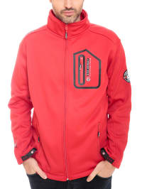 "Geographical Norway Softshelljacke ""Tonnerre"" in Rot"
