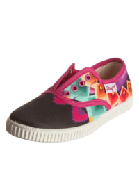 "Desigual Sneakers ""Nani"" in Schwarz/ Pink/ Bunt"