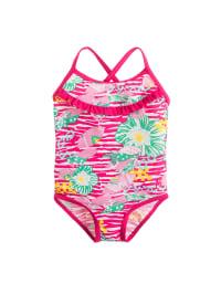 Noppies Badeanzug in Pink/ Bunt