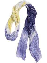 Döll Baumwolle-Schal in Rosa/ Lila/ Weiß - (B)52 x (L)180 cm