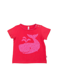 "Blutsgeschwister Shirt ""Big Ocean Friend"" in Rot/ Pink"