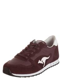 """Kangaroos Sneakers """"Blaze IV"""" in Bordeaux/ Weiß"""
