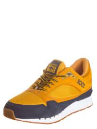"""Kangaroos Sneakers """"Rage Colours"""" in Orange/ Dunkelblau"""