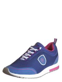 """Swissies Sneakers """"Giada"""" in Blau/ Fuchsia"""