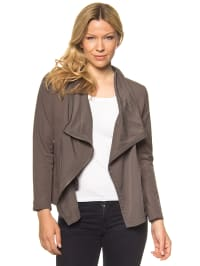 More & More Jacke in Taupe