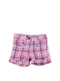 Kanz Shorts in Rosa/ Blau