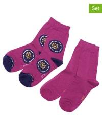 Ewers 4er-Set: Socken in Beere