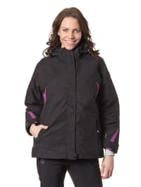 "Killtec 2in1-Funktionsjacke ""Cuma"" in Schwarz"