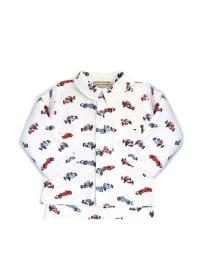Darcy Brown Pyjama in Weiß/ Rot/ Blau