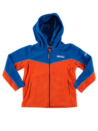"Regatta Fleecejacke ""Marty"" in Orange/ Blau"