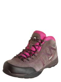 "Elementerre Trekking-Schuhe ""Swing"" in Taupe/ Fuchsia"