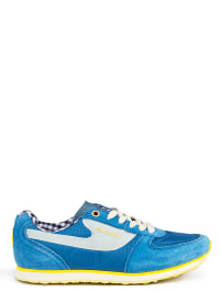 Diesel Sneakers in Blau/ Creme