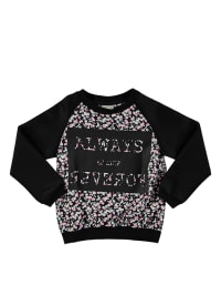 "Name it Sweatshirt ""Kofetti"" in Schwarz/ Bunt"