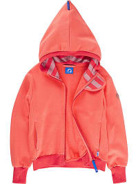 "Finkid Sweatjacke ""Pulssi"" in Koralle/ Rot"