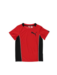 Puma Funktionsshirt in Rot/ Schwarz