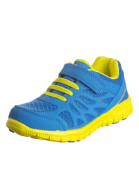"""Color Kids Sneakers """"Bluska"""" in Blau/ Gelb"""