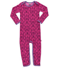 "Småfolk Overall ""Butterfly"" in Pink/ Lila"