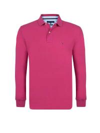 Tommy Hilfiger Poloshirt in Fuchsia