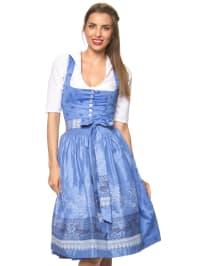 """Turi Landhaus Midi-Dirndl """"Sabrina"""" in Blau"""