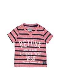 """Retour Shirt """"Lucas"""" in Rot/ Schwarz"""