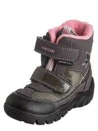"""Geox Winterboots """"Frosty G"""" in Grau/ Schwarz"""