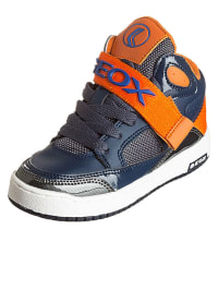 "Geox Sneakers ""Oracle"" in Blau/ Orange"