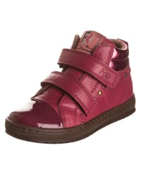 Romagnoli Leder-Sneakers in Pink
