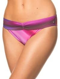 Lisca Bikinihose in Lila/ Pink/ Braun