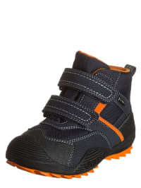 "Geox Boots ""Savage B"" in Dunkelblau/ Orange"