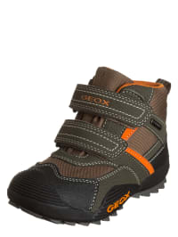 "Geox Boots ""Savage B"" in Braun/ Orange"