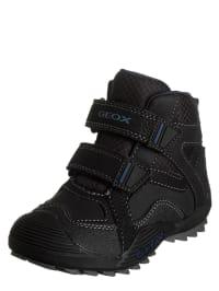"""Geox Boots """"Savage L"""" in Schwarz/ Blau"""