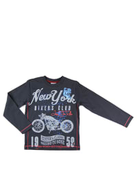 "What´s up Kids Longsleeve ""Retro Bike"" in Anthrazit/ Bunt"