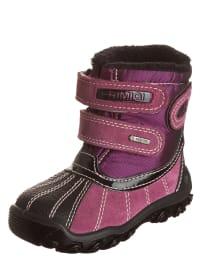 """Primigi Leder-Boots """"Zard"""" in Pink/ Lila"""
