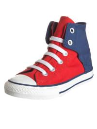 """Converse Sneakers """"CT Easy HI"""" in Rot/ Blau"""