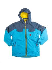 """Color Kids Ski- und Snowboardjacke """"Tromsoe"""" in Türkis/ Blau/ Gelb"""