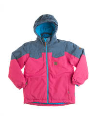 "Color Kids Ski- und Snowboardjacke ""Tromsoe"" in Pink/ Blau"