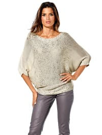 B. C. Best Conections Pullover in Beige