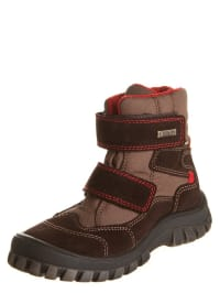Richter Shoes Boots in Braun/ Rot