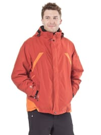 "Killtec 2in1-Funktionsjacke ""Fleming"" in Orange"
