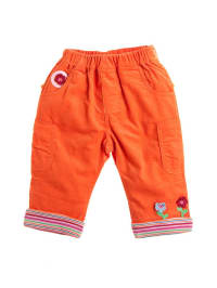 Bondi Cordhose in Orange